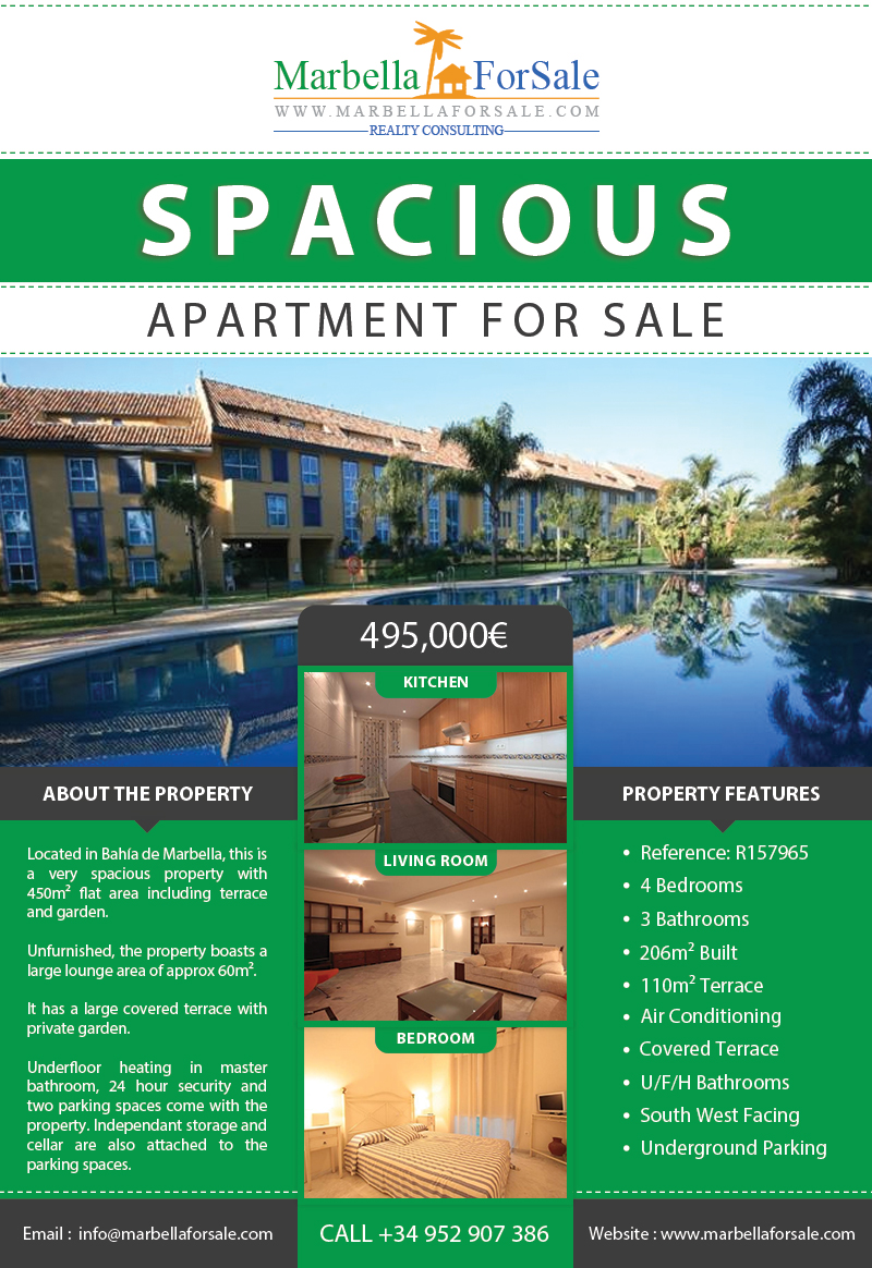Ground Floor Apartment For Sale in Bahia de Marbella