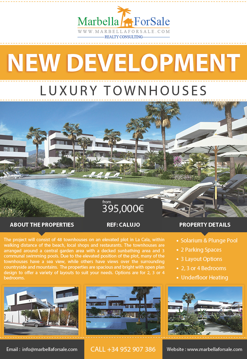 La Cala de Lujo - Townhouses for sale in La Cala de Mijas