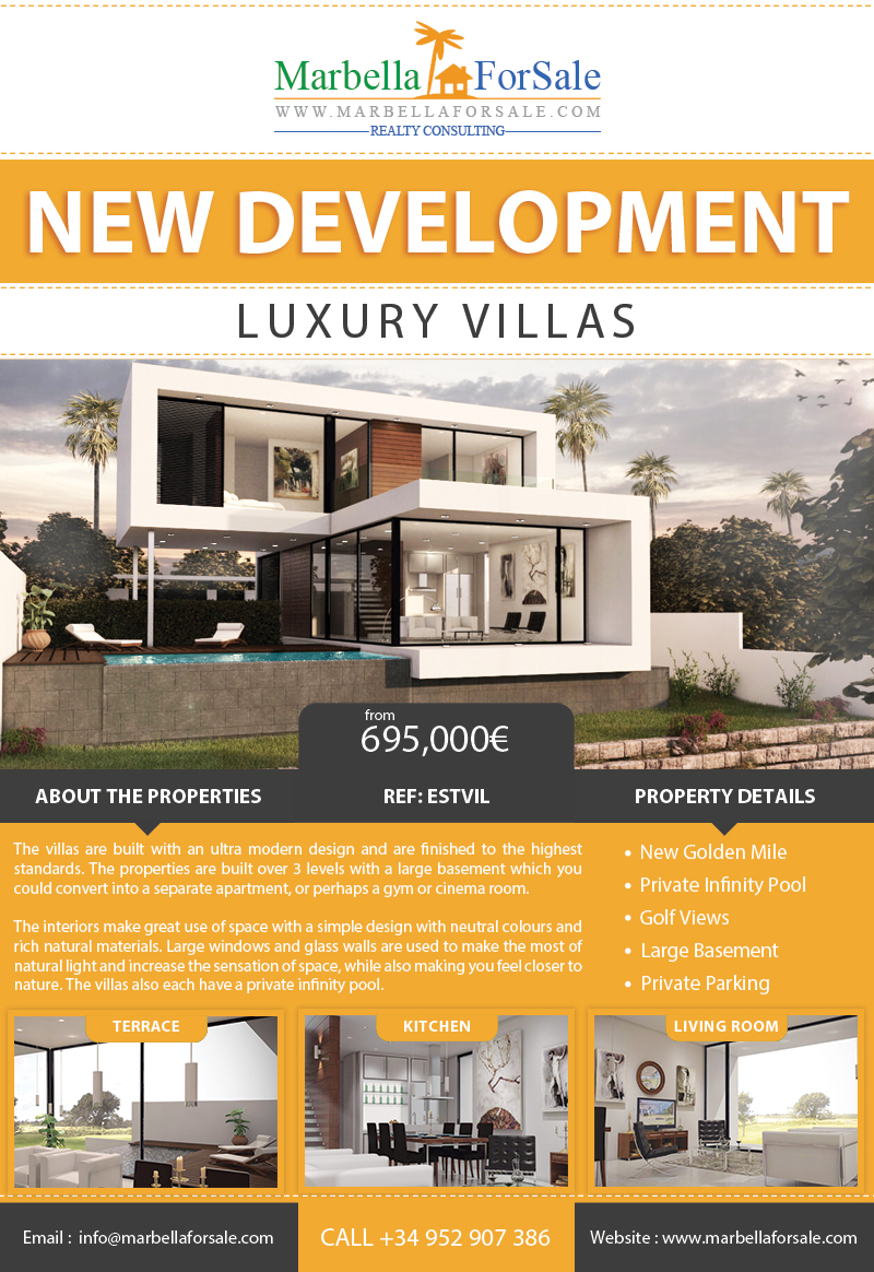 Luxury Villas For Sale in Estepona