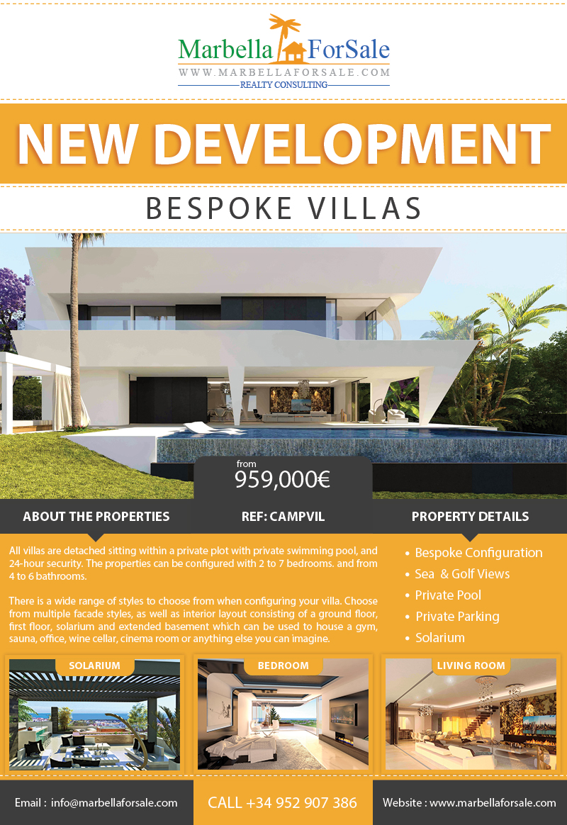 Luxury Villas in El Campanario