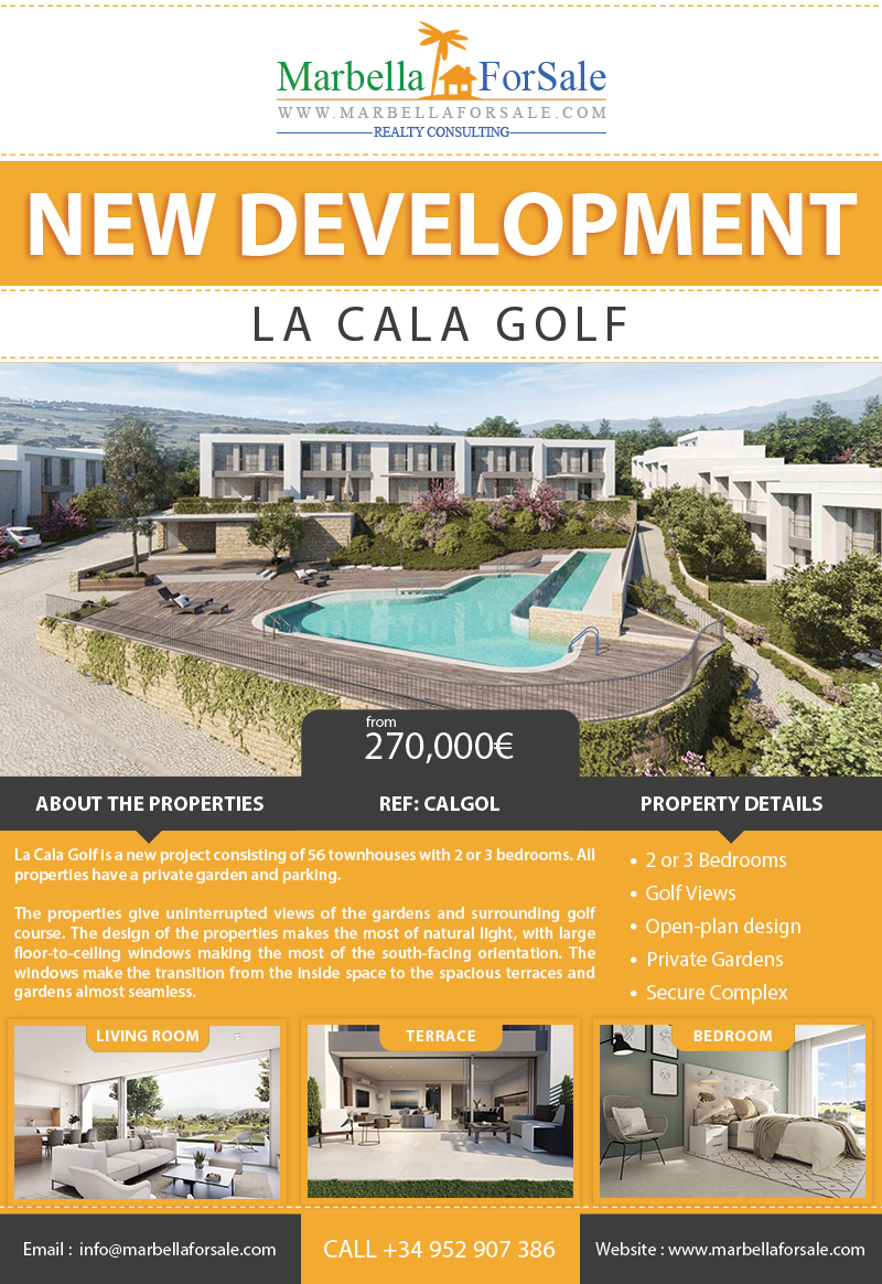 La Cala Golf Townhouses For Sale