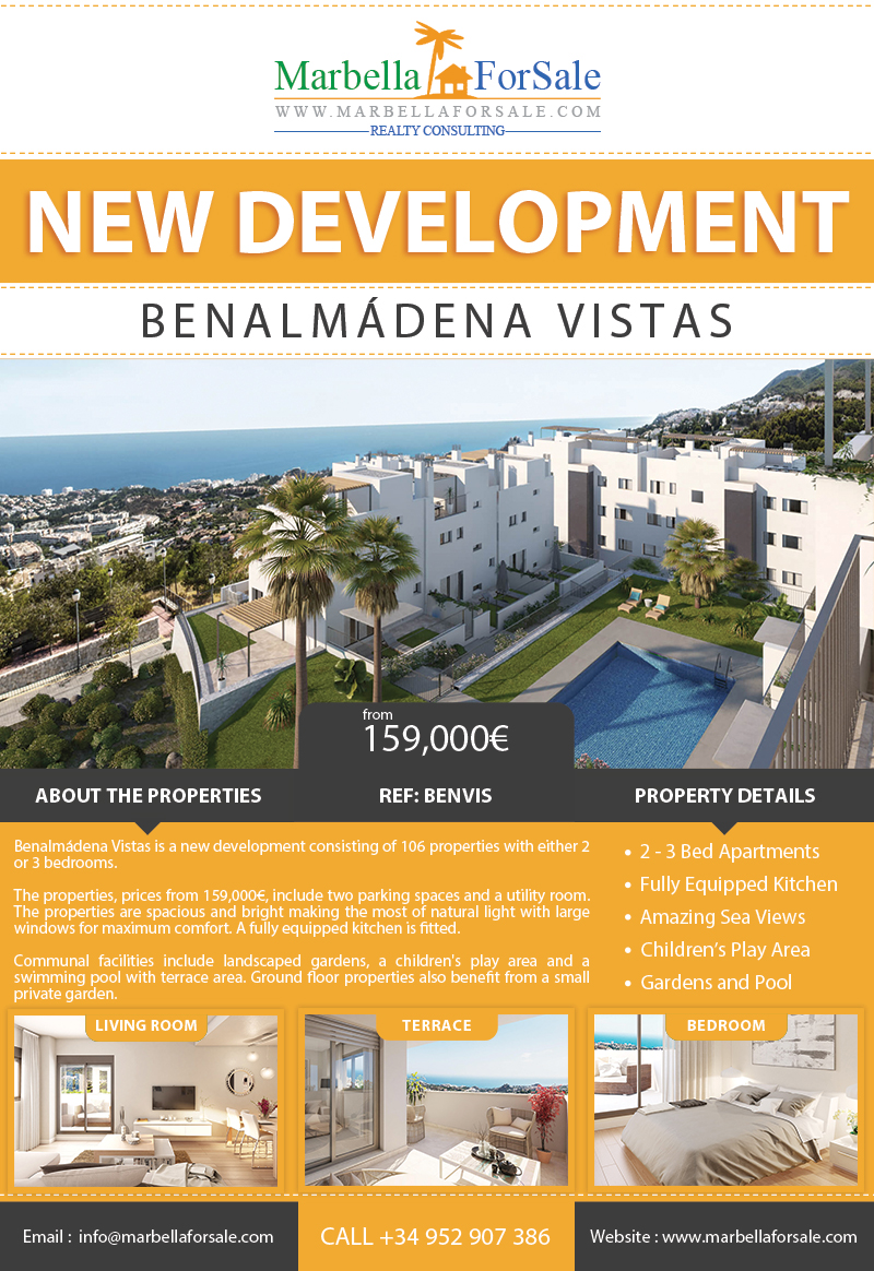 Benalmádena Vistas For Sale