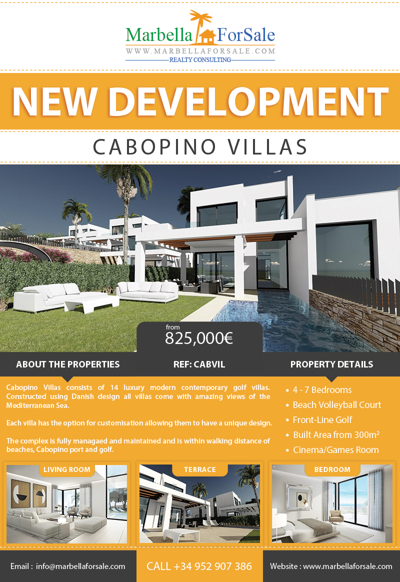 Cabopino Villas For Sale