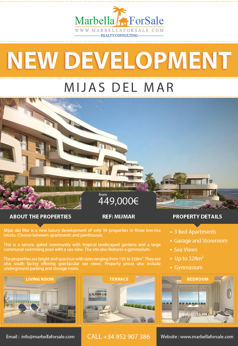 Mijas del Mar For Sale