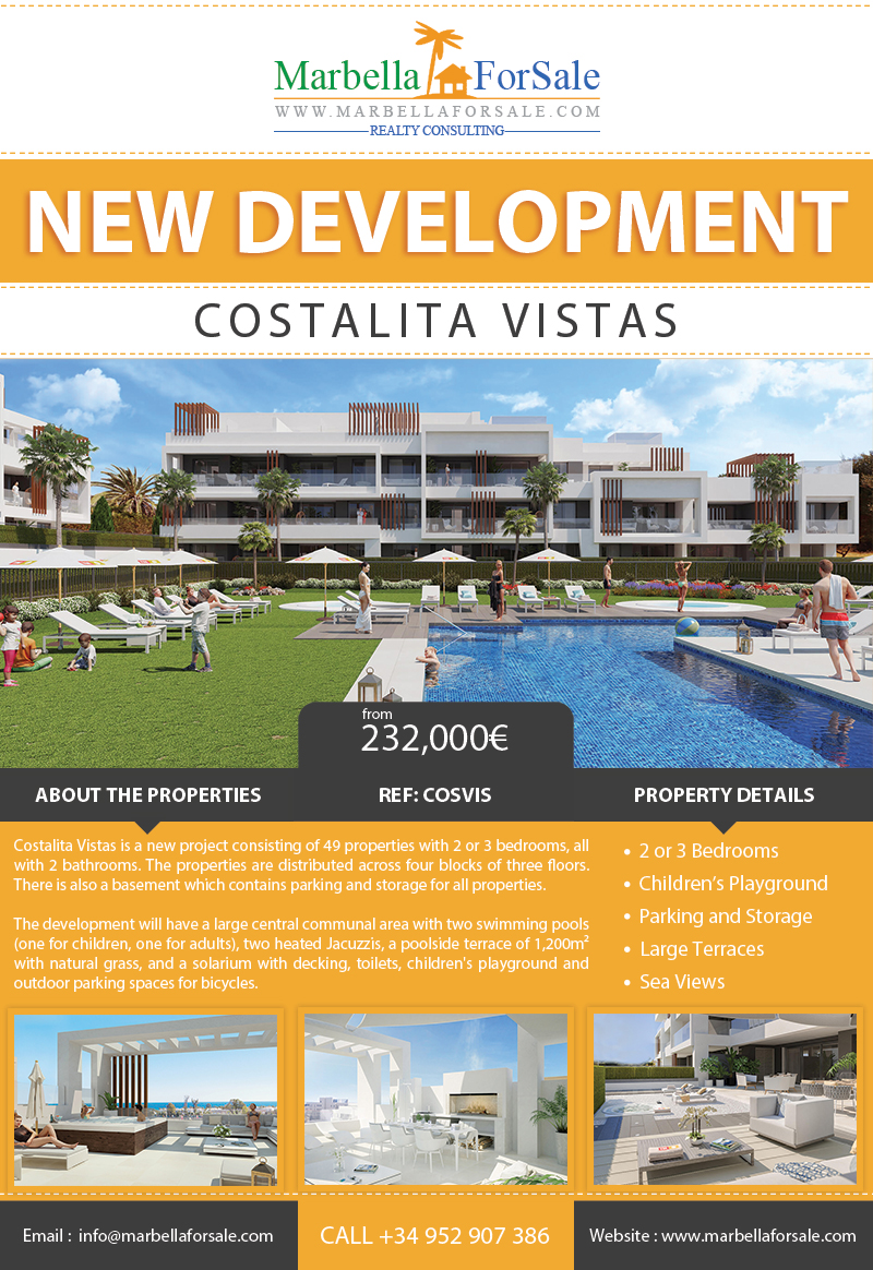 Costalita Vistas - New Apartments For Sale
