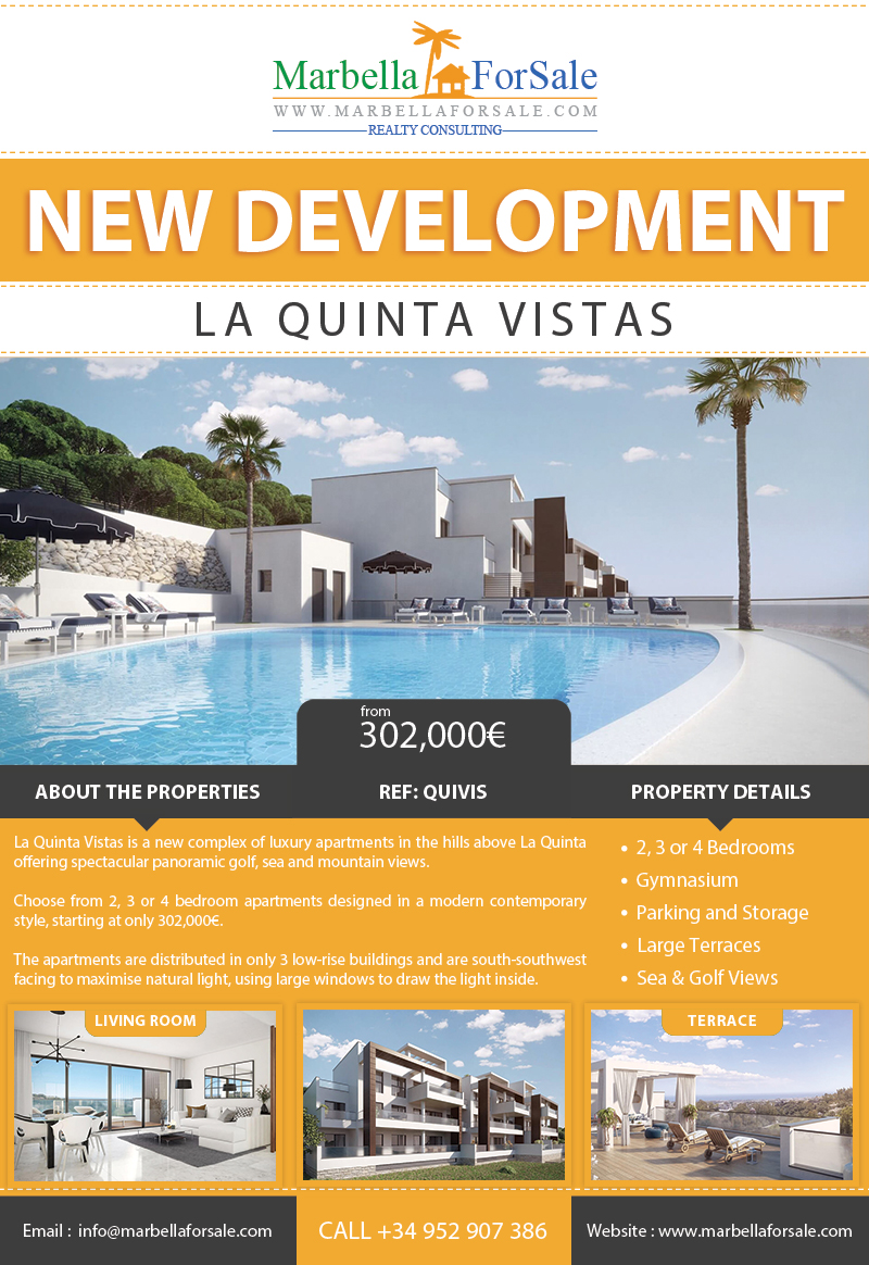 La Quinta Vistas - New Property For Sale