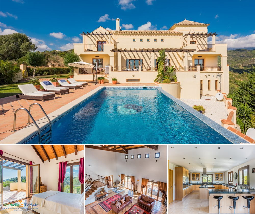 Spacious 6 Bed Villa For Sale Benahavis