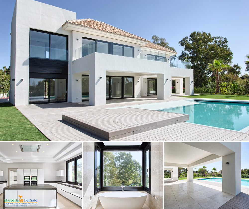 5 Bed Villa For Sale Estepona