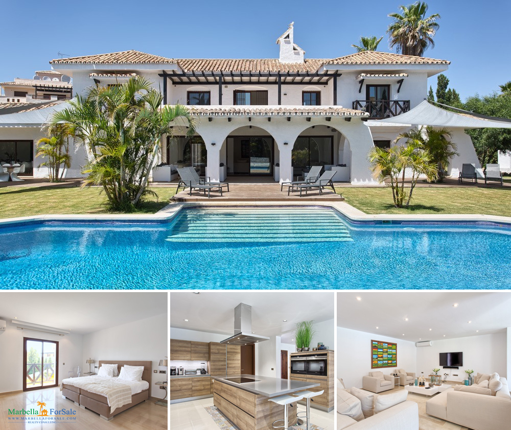 8 Bed Villa For Sale Nueva Andalucia