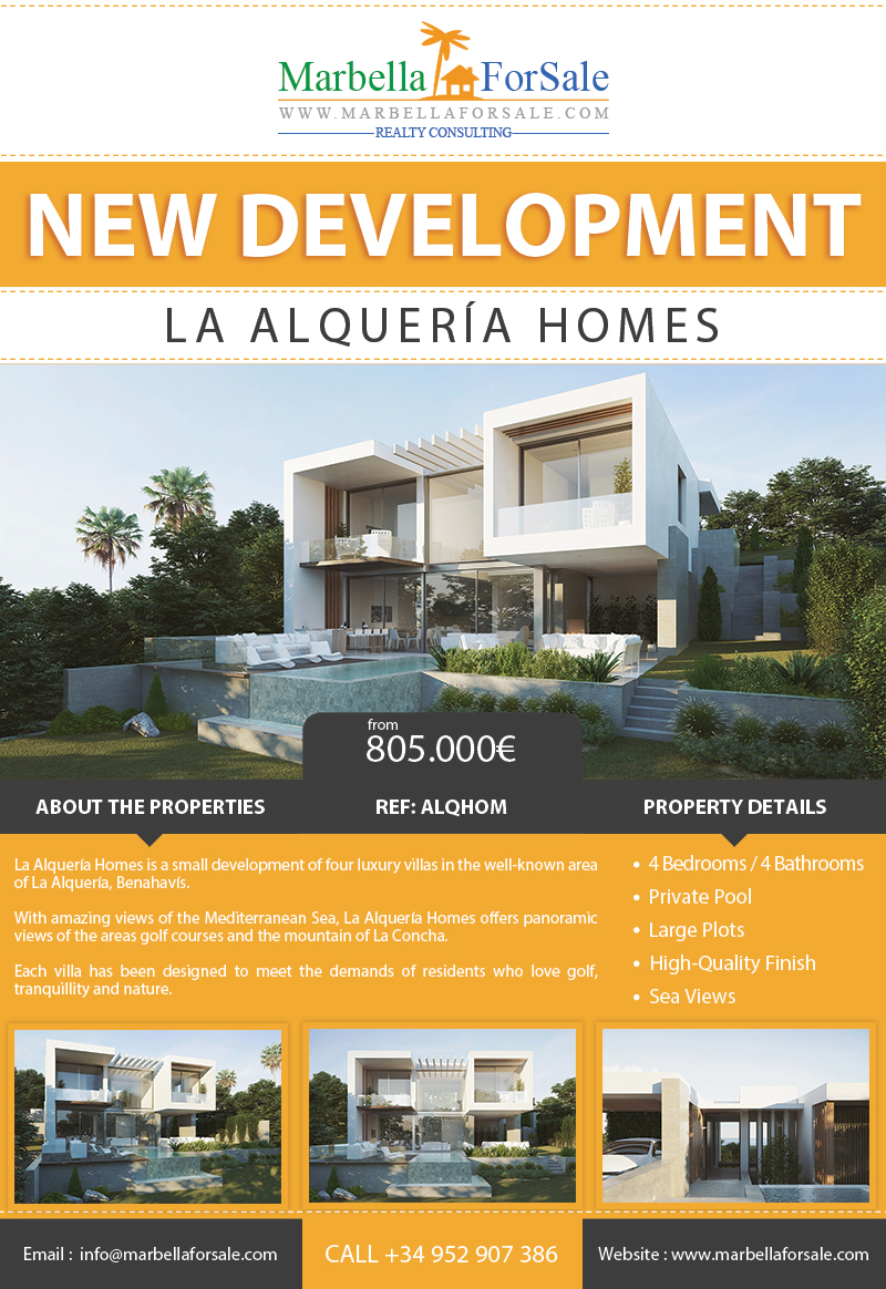 Luxury Villas For Sale in La Alquería