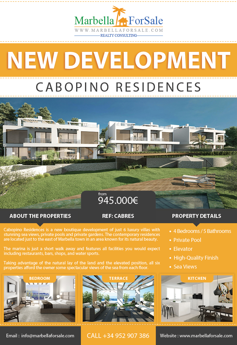 Cabopino Residences For Sale