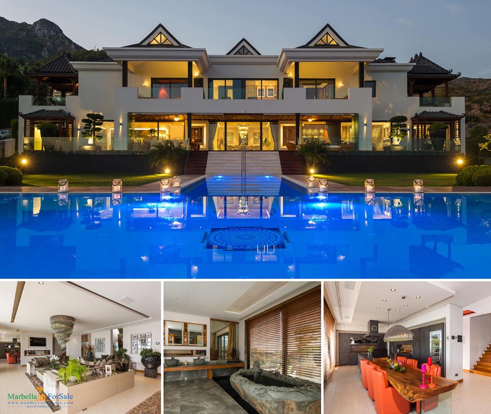 Asian Inspired Villa For Sale - Cascada de Camoján