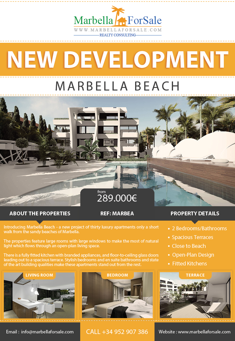 Marbella Beach Apartments For Sale