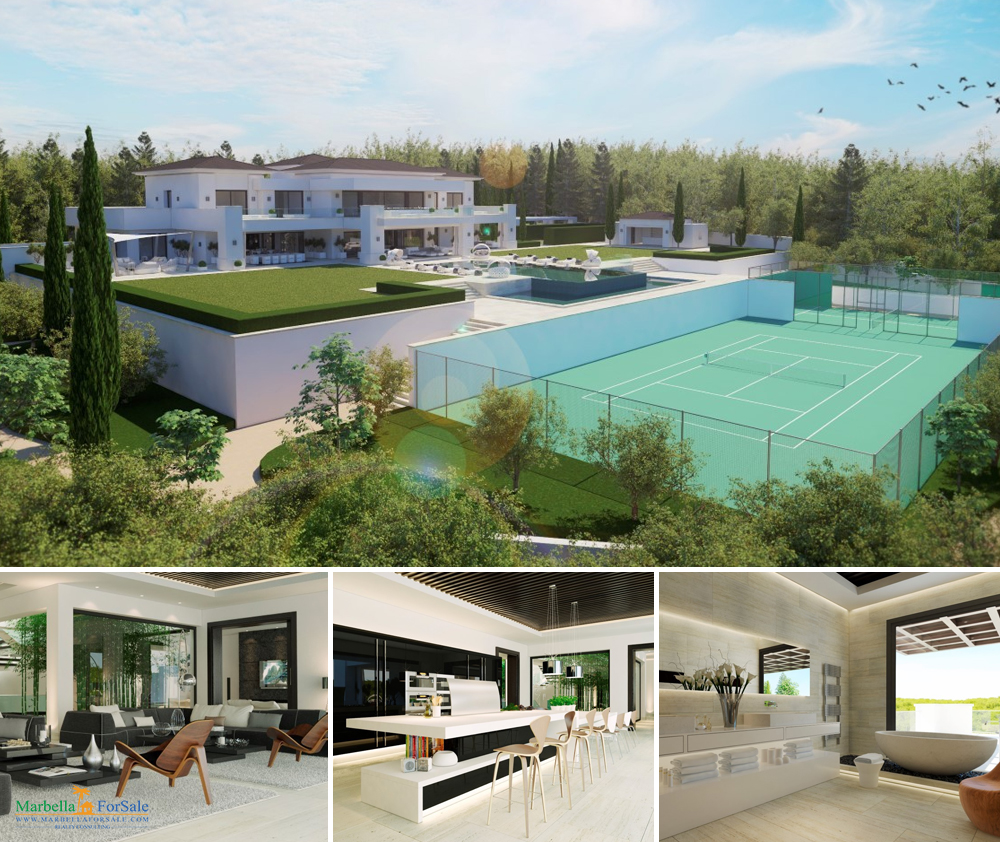 New villa project for sale in Sotogrande