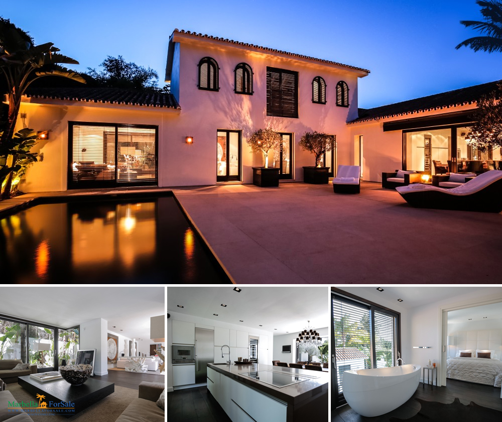 4 bedroom villa for sale in Los Monteros