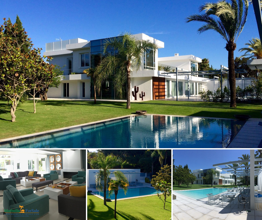 7 Bedroom Villa For Sale in Guadalmina, Marbella