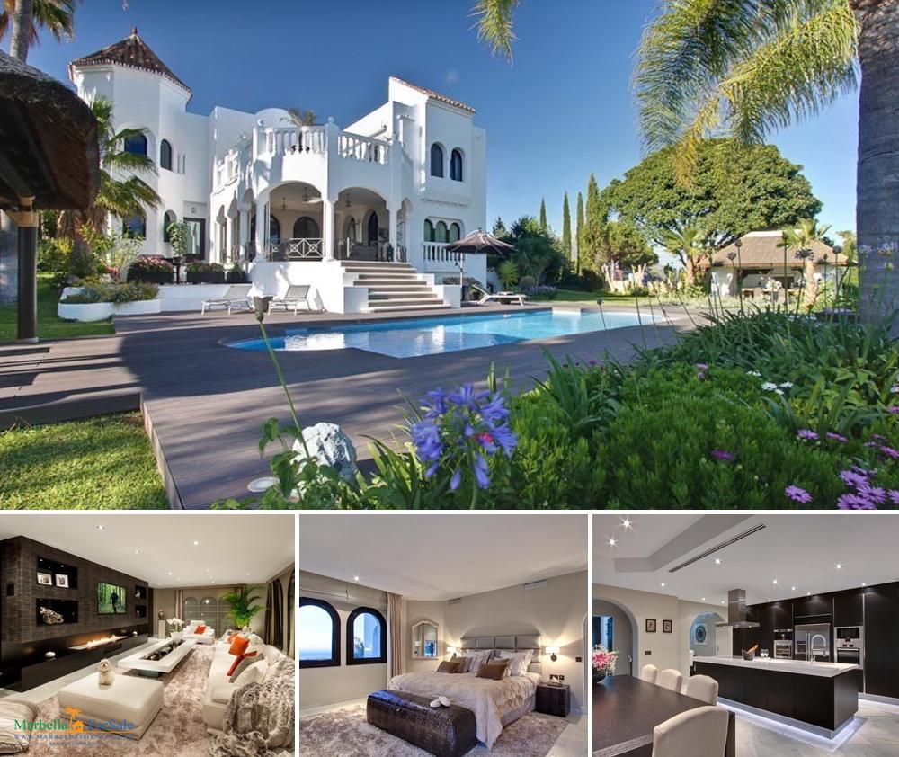 6 bed villa for sale - El Madroñal