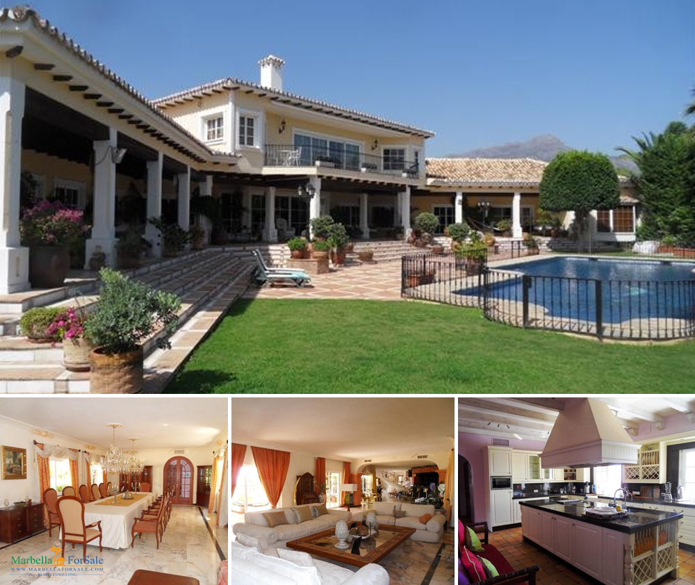 8 Bed Villa For Sale in La Quinta, Benahavís