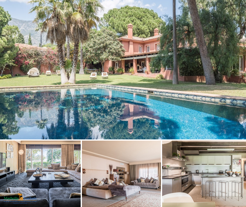 5 Bedroom Villa For Sale in Nagüeles, Marbella