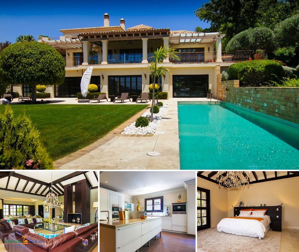 8 bed villa for sale in La Zagaleta