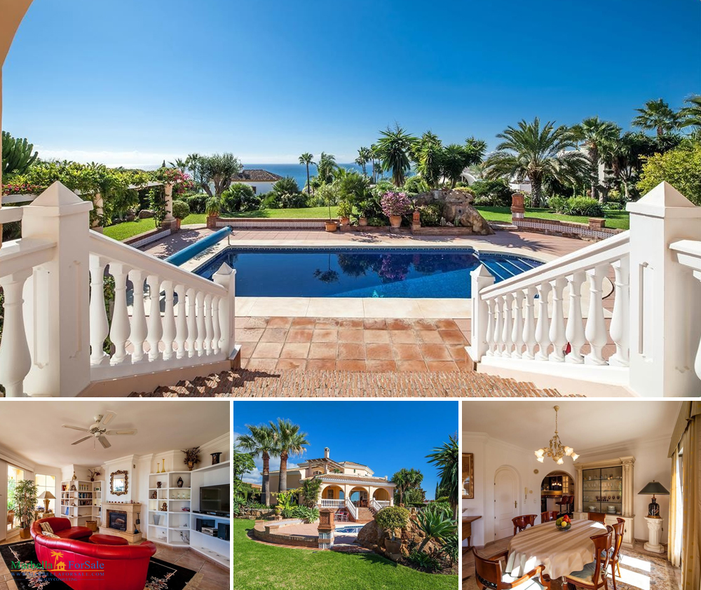 4 Bed Villa For Sale in Estepona