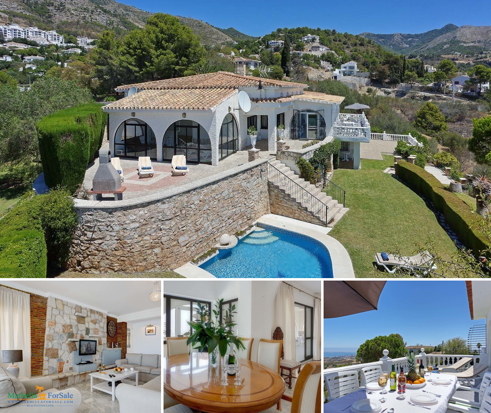 7 Bedroom Villa For Sale in Mijas Pueblo