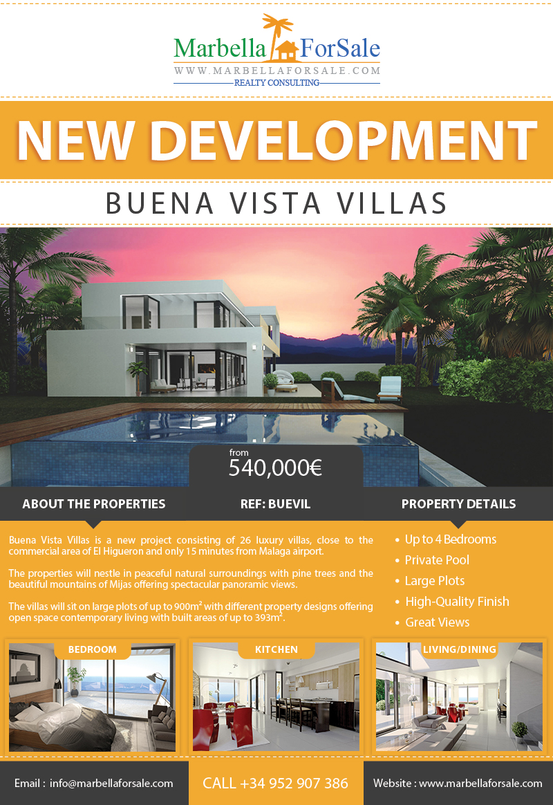 New Villas For Sale El Higueron