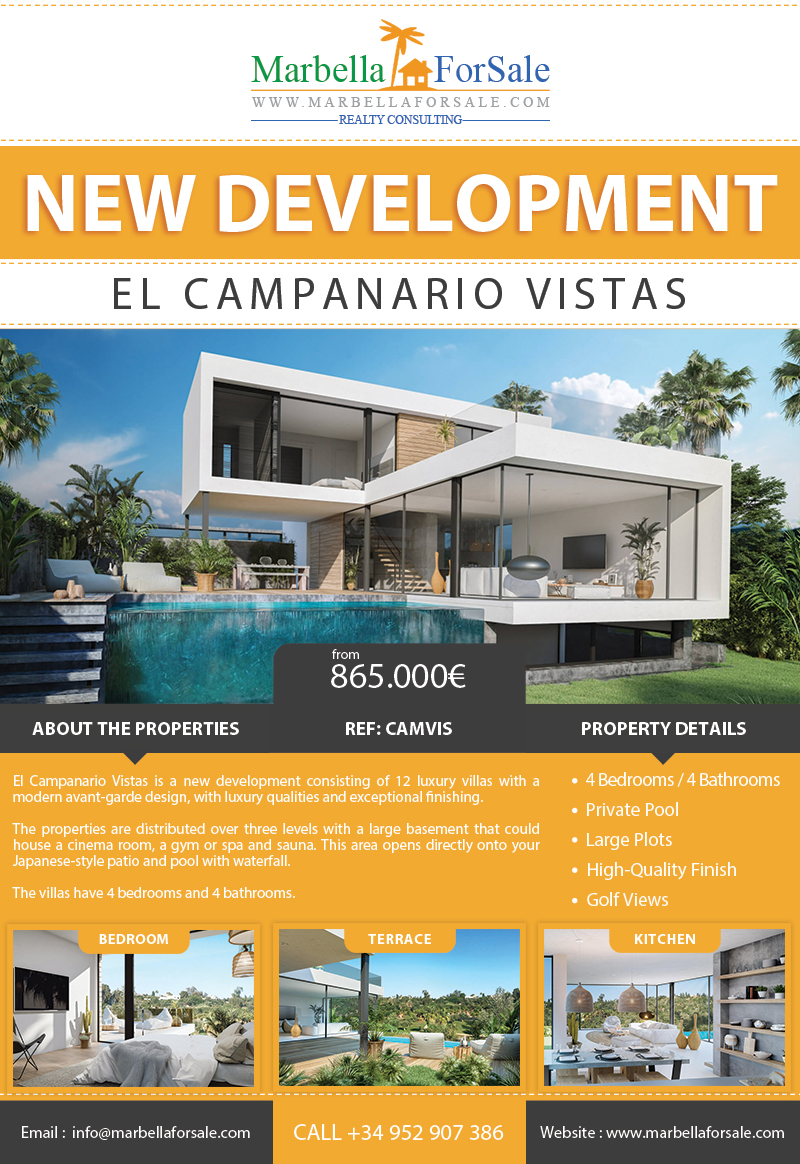 New villas for sale in Estepona