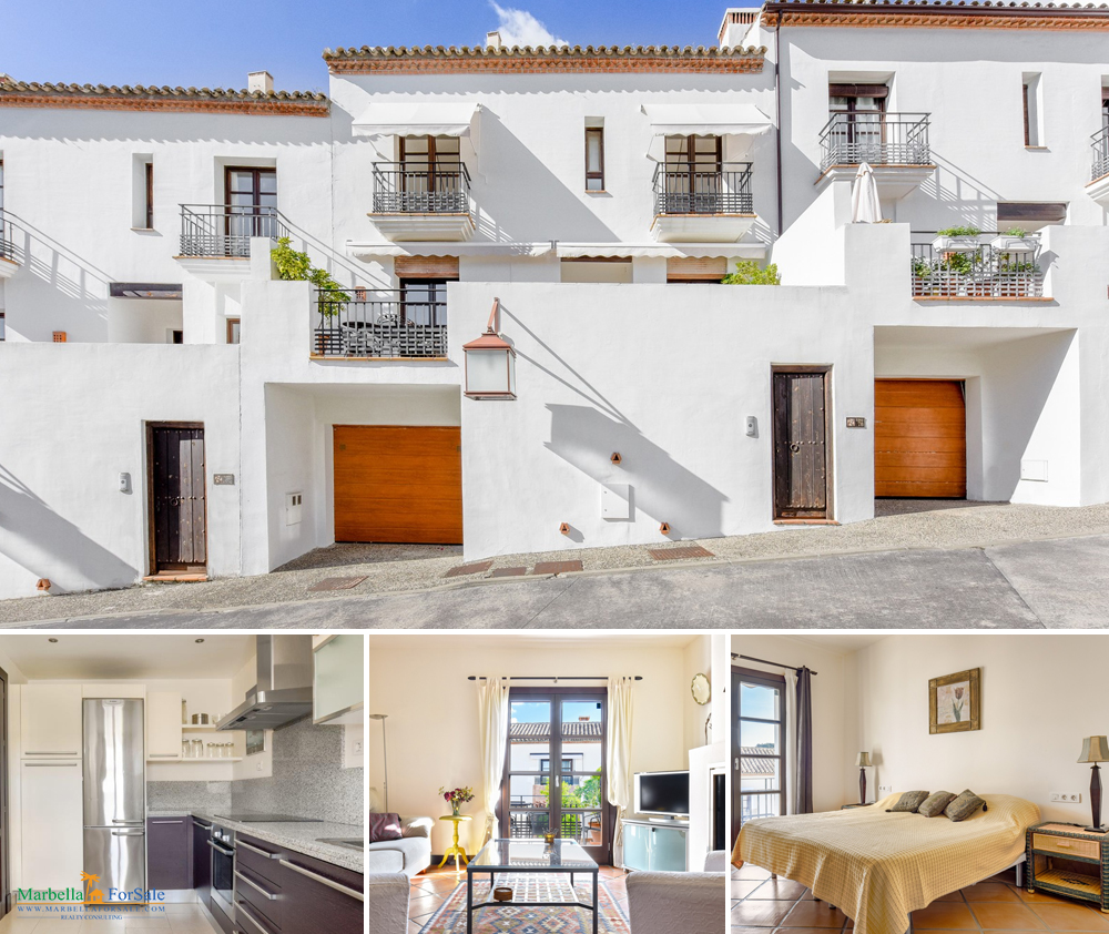 3 bedroom townhouse for sale in Benahavís