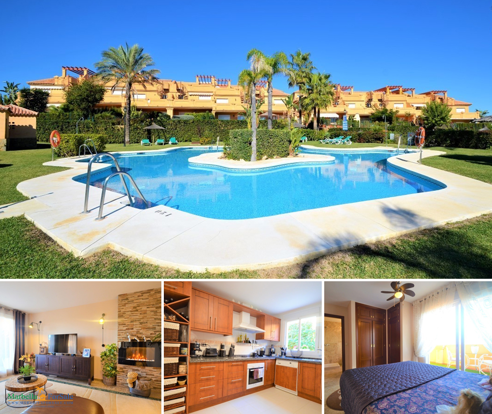 Luxury 3 bedroom townhouse for sale in Estepona