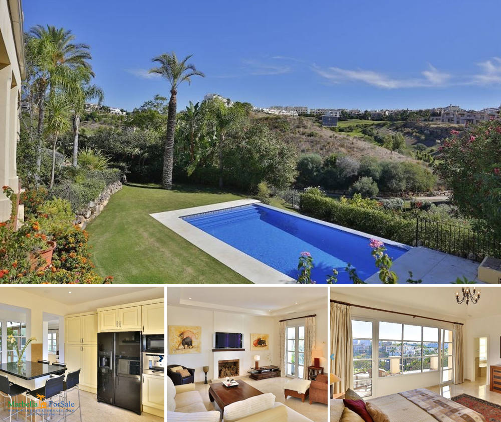 Lovely 5 bedroom villa for sale in Estepona