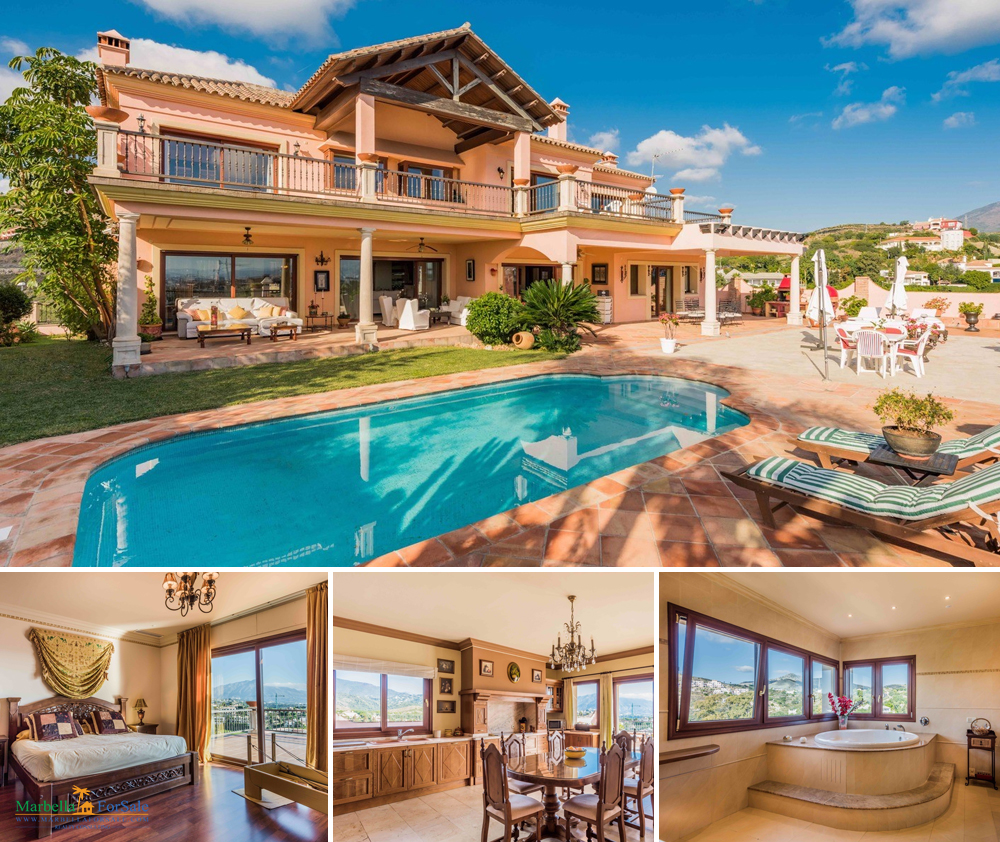 6 bedroom villa for sale in Benahavís