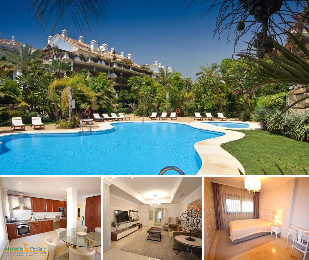 3 bedroom apartment for sale on Marbella's Golden Mile