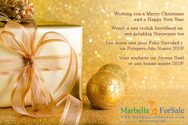 Happy Christmas from Marbella For Sale