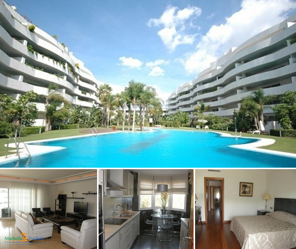 Spacious 2 bedroom apartment for sale in Puerto Banús