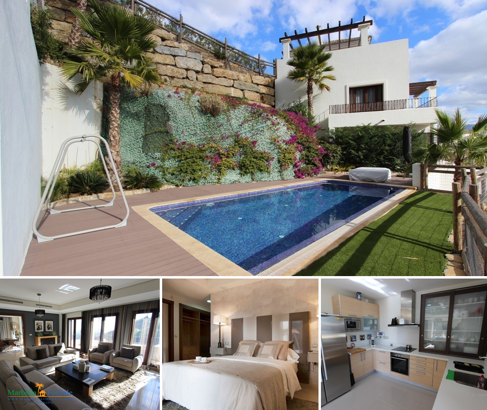 Immaculate 4 bed villa for sale in Benahavís