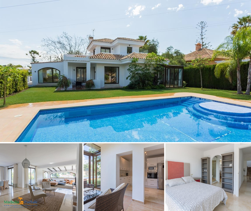 Lovely 5 bedroom villa for sale in Nueva Andalucía