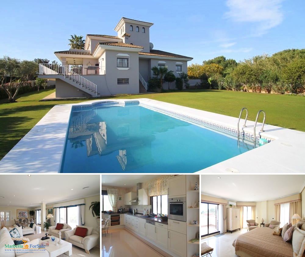 Fabulous 4 Bed Villa For Sale - Sotogrande
