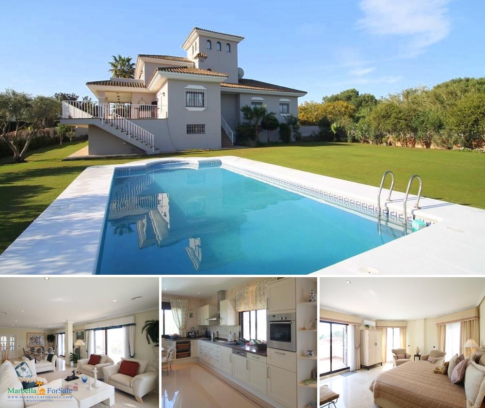 Fabulous 4 Bed Villa For Sale - Sotogrande