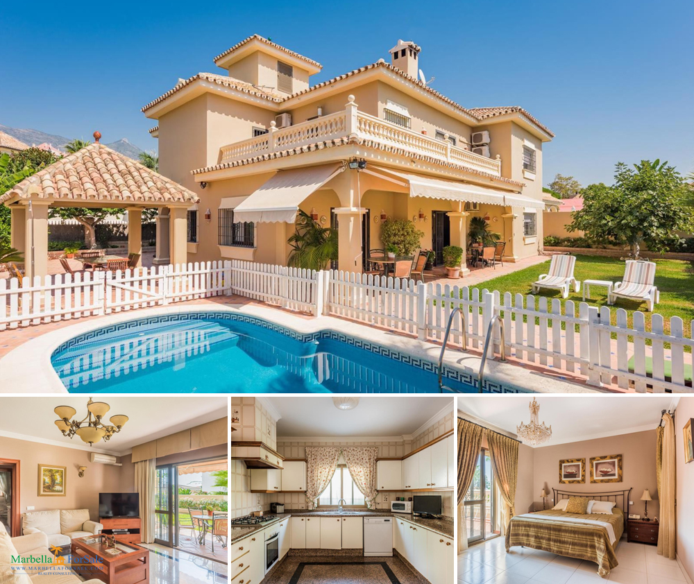 6 bedroom villa for sale in Marbella