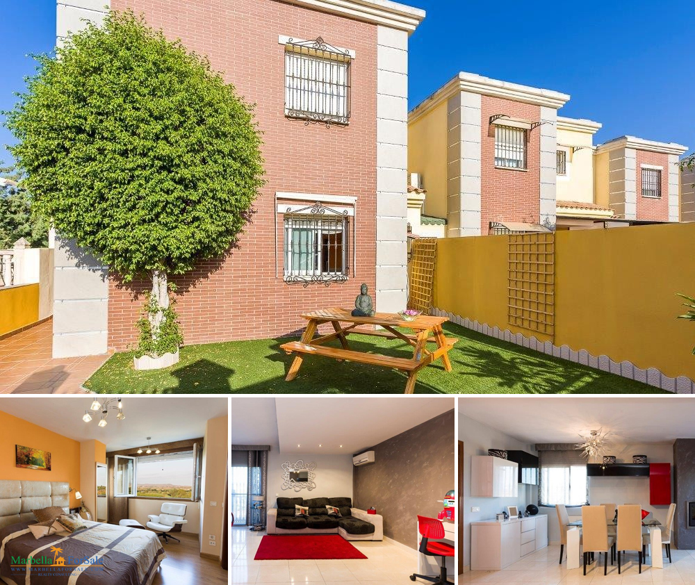 4 bedroom townhouse for sale in fuengirola. Black Bedroom Furniture Sets. Home Design Ideas