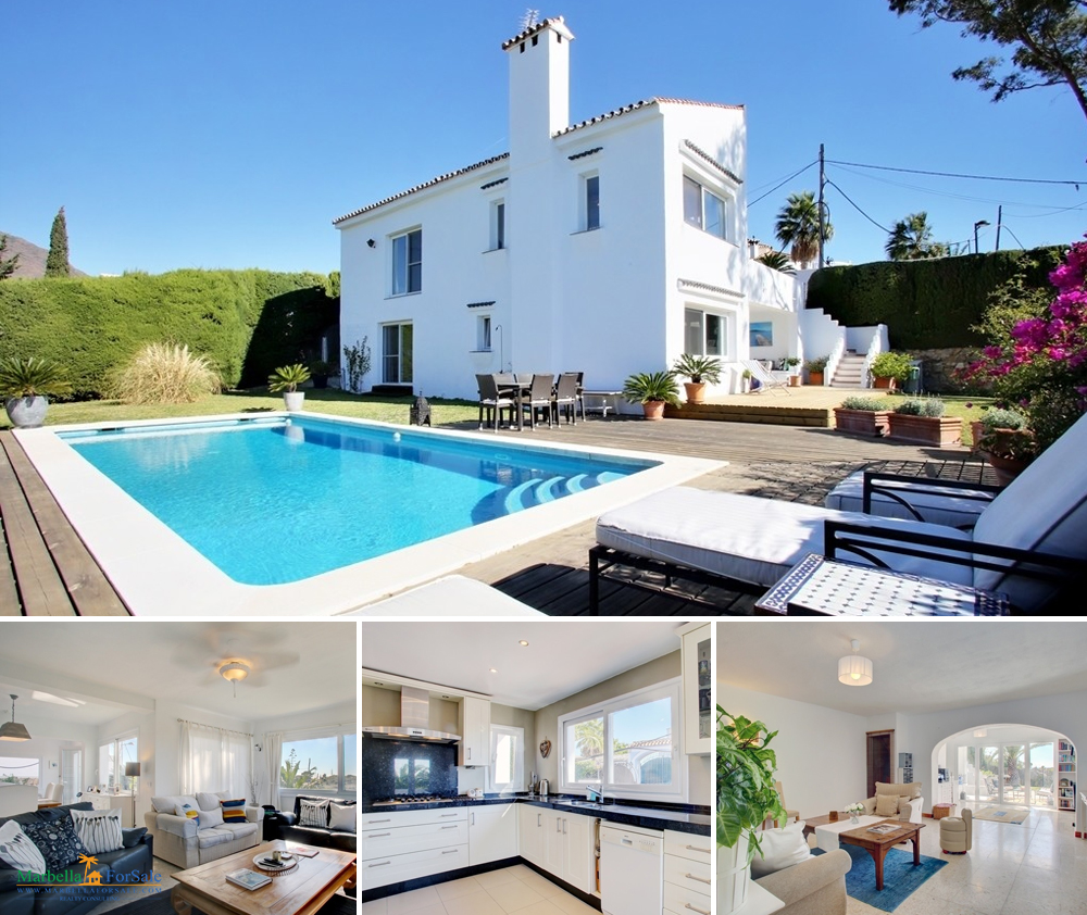 Wonderful 3 bedroom villa for sale in Estepona