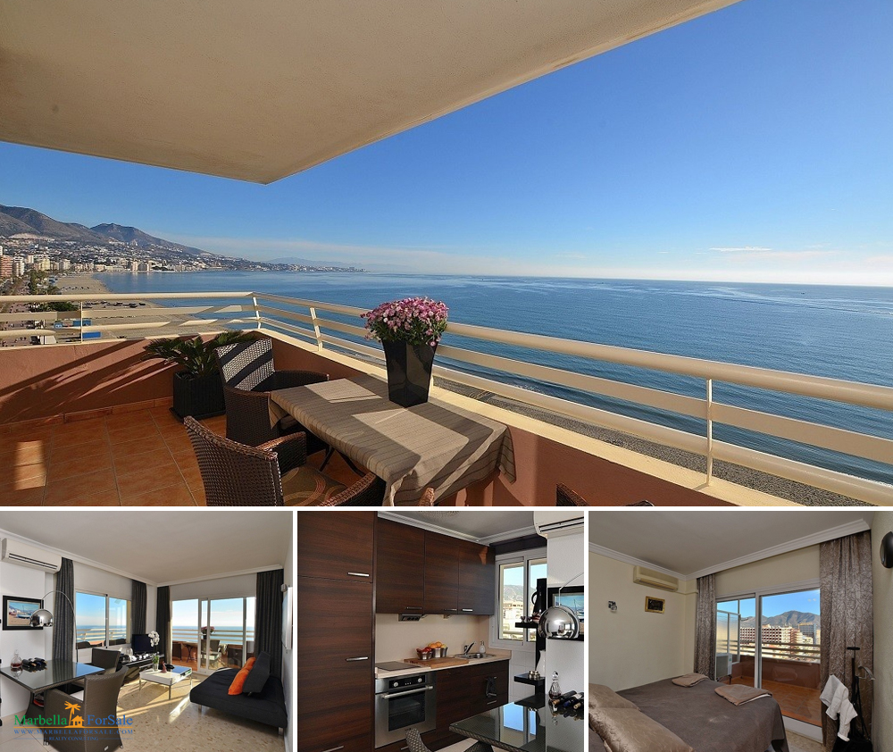Beachfront 1 Bed Apartment For Sale - Fuengirola