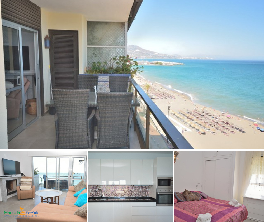 3 Bed Beachfront Apartment For Sale - Fuengirola