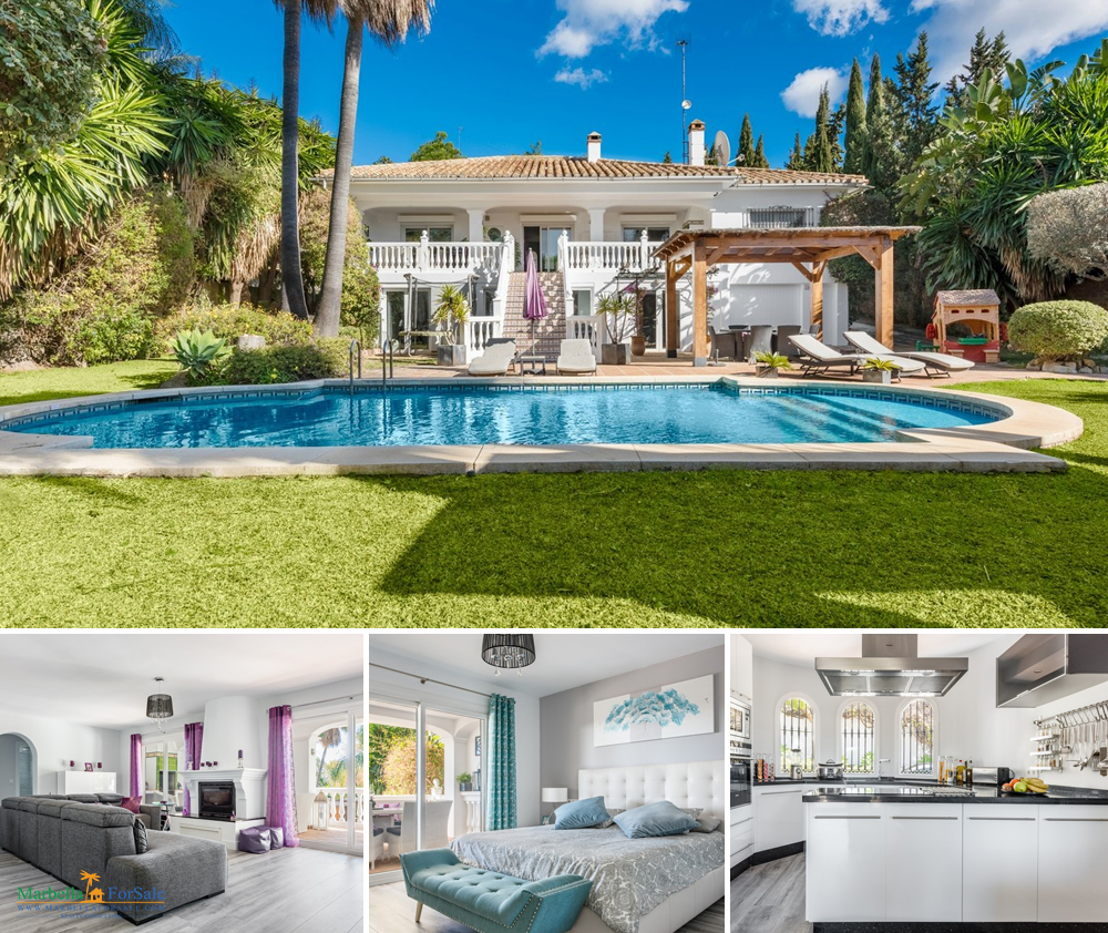 Fabulous 7 Bedroom Villa For Sale in Mijas