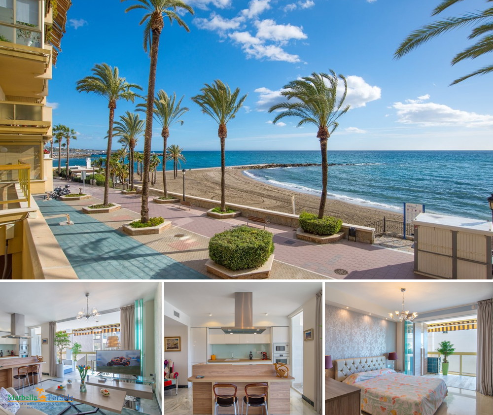 Beachfront 2 Bedroom Apartment For Sale - Marbella