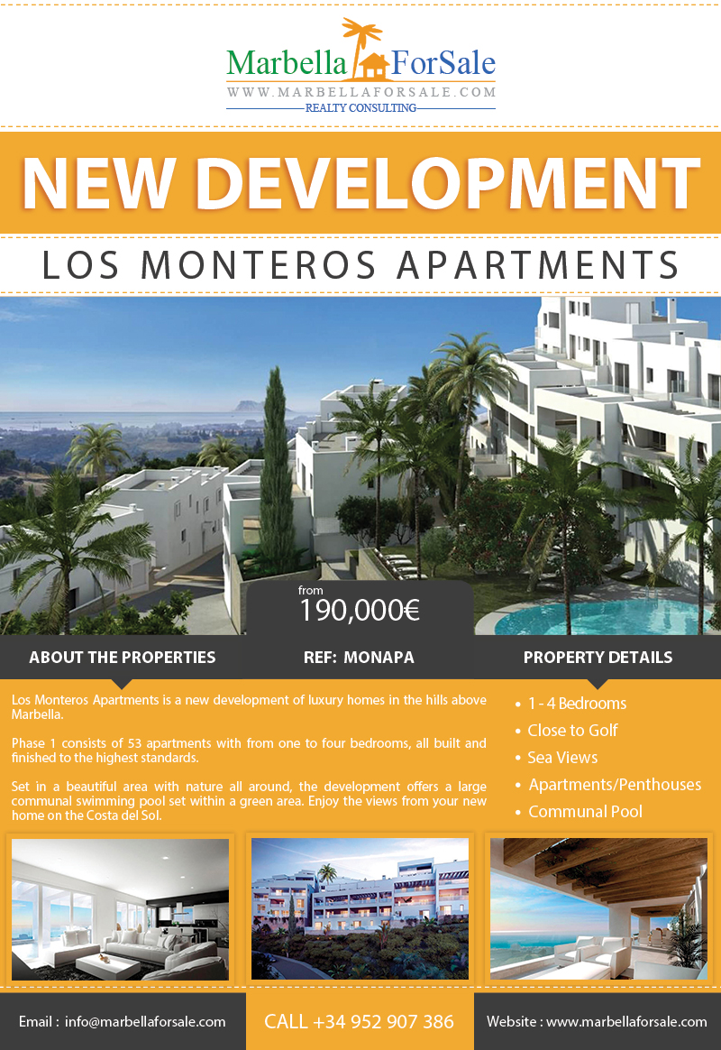 New Apartments For Sale - Los Monteros, Marbella