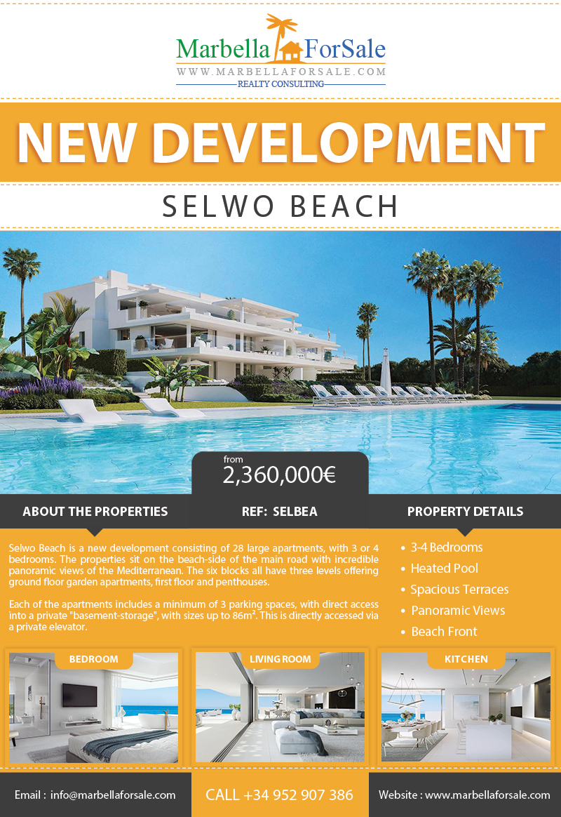 Luxury beachfront apartments for sale - Selwo