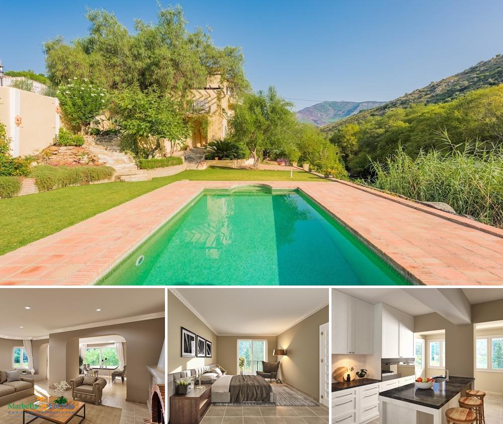 Lovely Riverside Villa For Sale in Benahavís