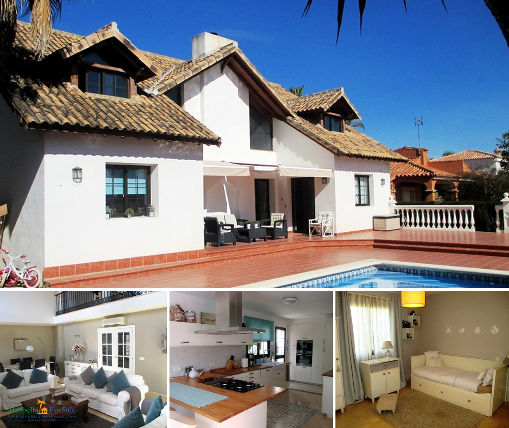 Fantastic 5 Bedroom Villa For Sale - Estepona